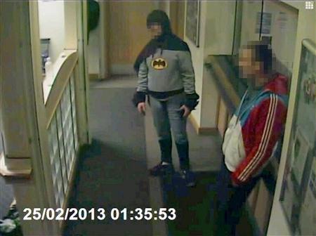 Batman Collars Criminal For Police In Bradford, U.K