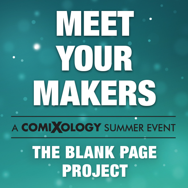"""ComiXology Partners with The Hero Initiative for """"The Blank Page Project"""" Charity Event"""