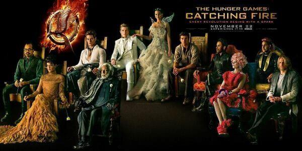 Cinerina Reviews: The Hunger Games: Catching Fire
