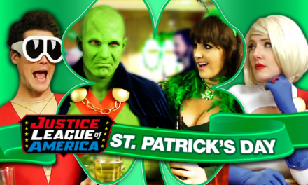 Video of the Day: A Super 'Sober' St. Patrick's Day with the Justice League