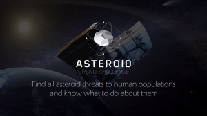 NASA's Asteroid Grand Challenge: Find all asteroid threats to human populations and know what to do about them