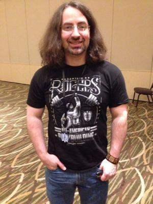 Jim Butcher at Wyrd Con V