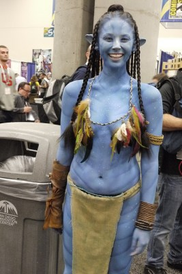 Neytiri costumes have no pockets!