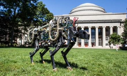 MIT's Cheetah Off Leash