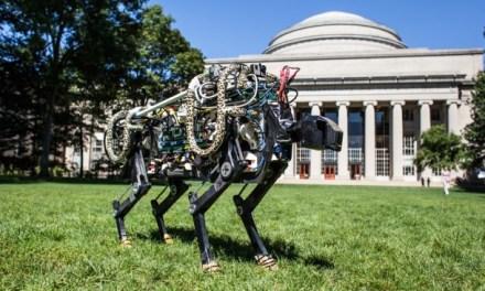 MIT's Cheetah Off Leash