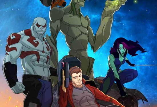 'Guardians of the Galaxy' Animated Series Test Footage