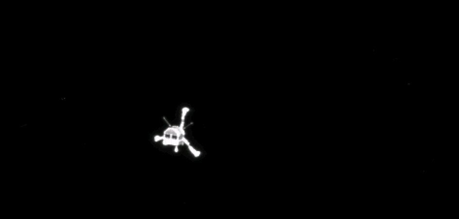 Rosetta Probe Deploys Philae Lander on Comet