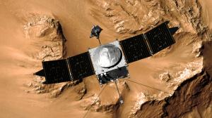 Artist Concept of NASA's Mars Atmosphere and Volatile Evolution (MAVEN)
