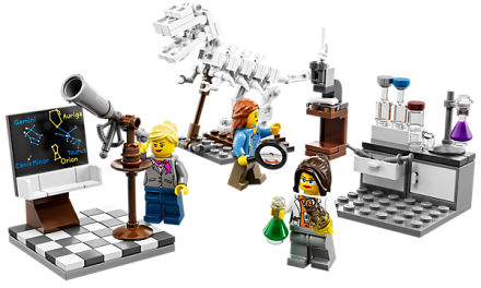 LEGO 'Research Institute' Women Scientists are Back!