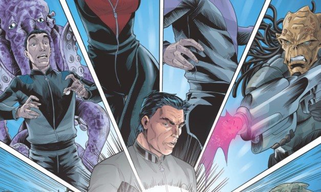 Four-Color Bullet: 'Galaxy Quest: The Journey Continues' #1