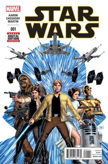 Four-Color Bullet: 'Star Wars' #1, 'Wonder Woman '77' #2