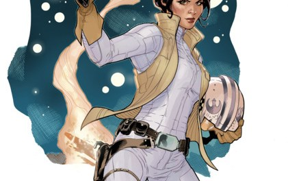 Four-Color Bullet: 'Star Wars : Princess Leia' #1, 'The Big Con Job' #1
