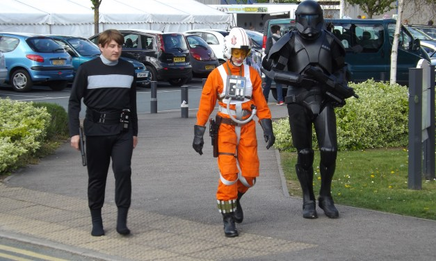 Fans Unite at Wales Comic Con – Spring 2015