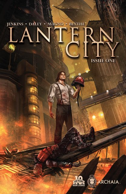 Writers: Paul Jenkins and Matthew Daley Artists: Carlos Magno and Chris Blythe ARCHAIA ENTERTAINMENT