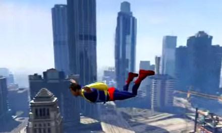 Superman Mod in 'Grand Theft Auto V'