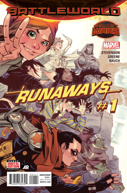 Four-Color Bullet (The 'Week Behind' Edition): 'Runaways' #1, 'Ghostbusters: Get Real' #1