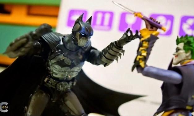 Video of the Day: Batman vs Joker Stop Motion Animation