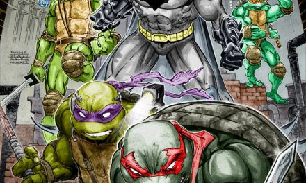 DC, IDW Announce Batman/Teenage Mutant Ninja Turtles Crossover