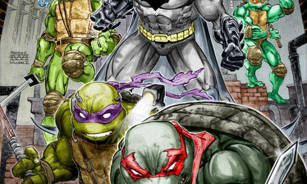 DC, IDW Announce Batman/Teenage Mutant Ninja Turtles Crossover