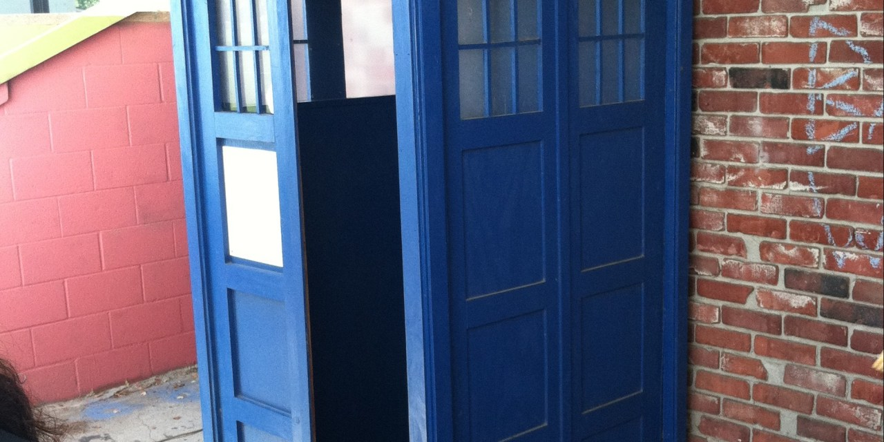 Celebrating Doctor Who with 'Art of the TARDIS'