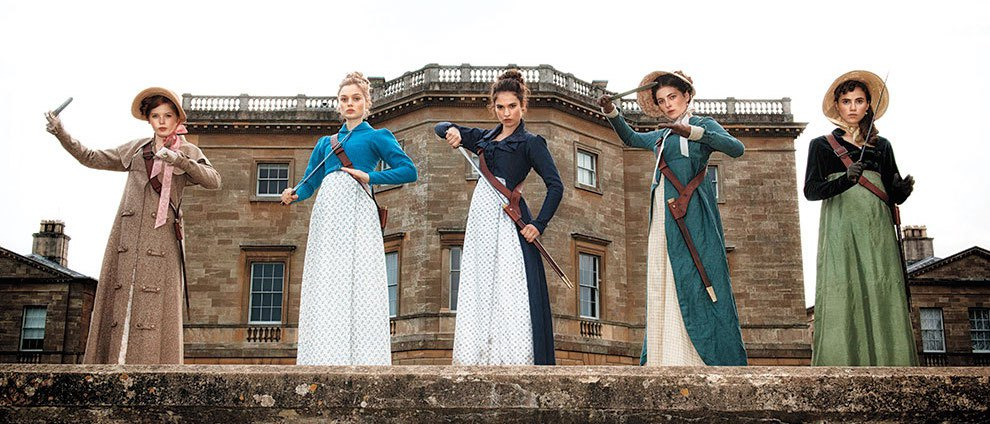 1st Look: 'Pride and Prejudice and Zombies' Trailer