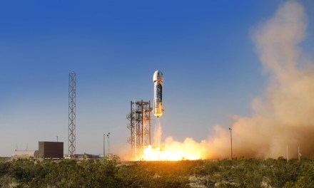 Jeff Bezos' Blue Origin Sticks Its Landing