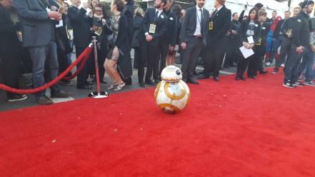 BB-8 meets his adoring fans.