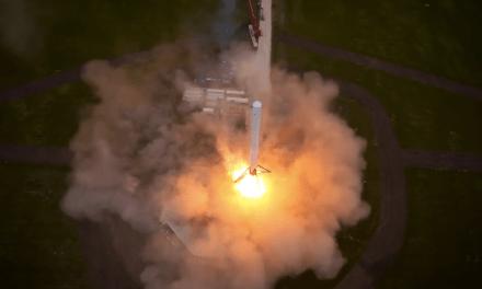 SpaceX's Falcon 9 Sticks Its Landing