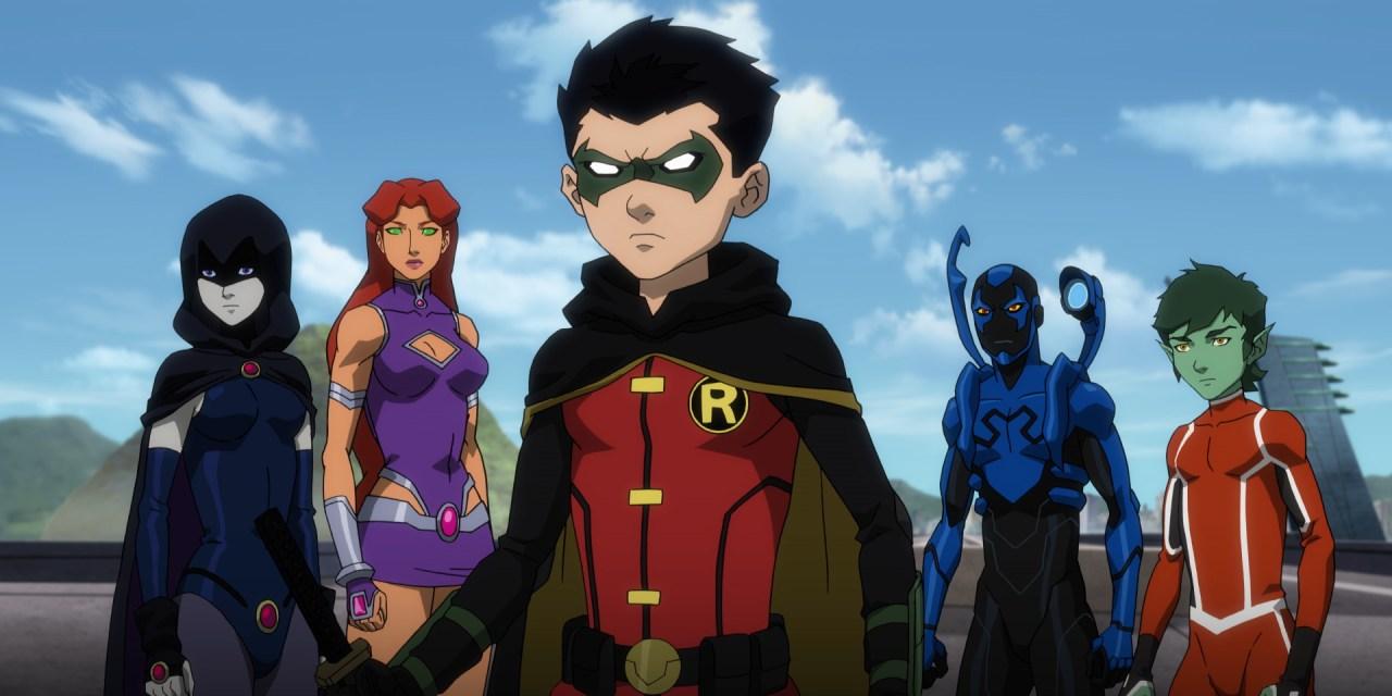 Justice League vs. Teen Titans!?!