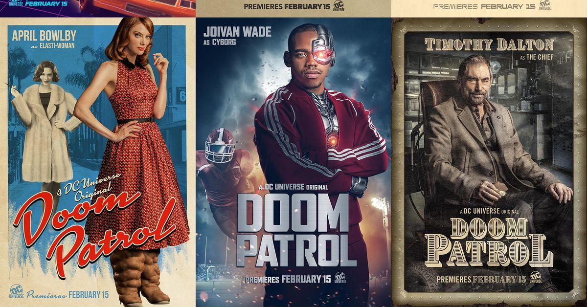 1st Look Doom Patrol Holiday Teaser Krypton Radio Your Sci