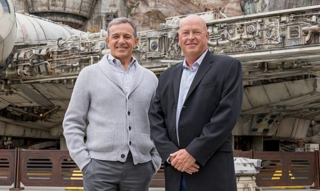Disney Names Chapek New CEO: Iger Fadeout