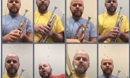 Video of the Day: Daniel Gianola-Norris' 'Star Trek:TNG Theme' for Trumpets and Euphonium
