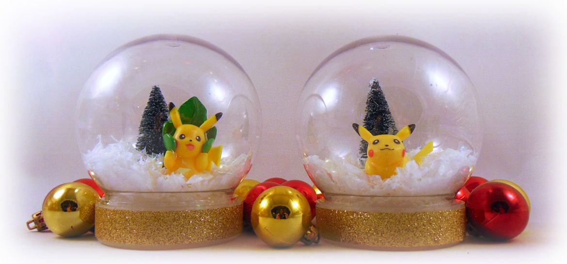 How To Make Easy Pokemon Snow Globes Krysanthe