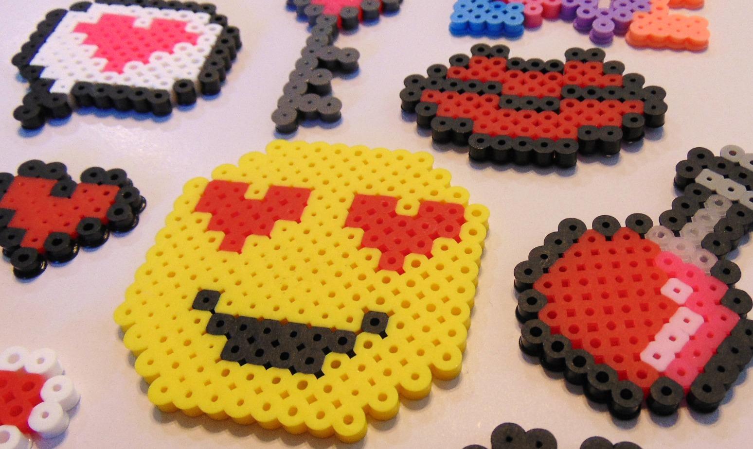 10 Easy Valentine Perler Bead Patterns – Krysanthe