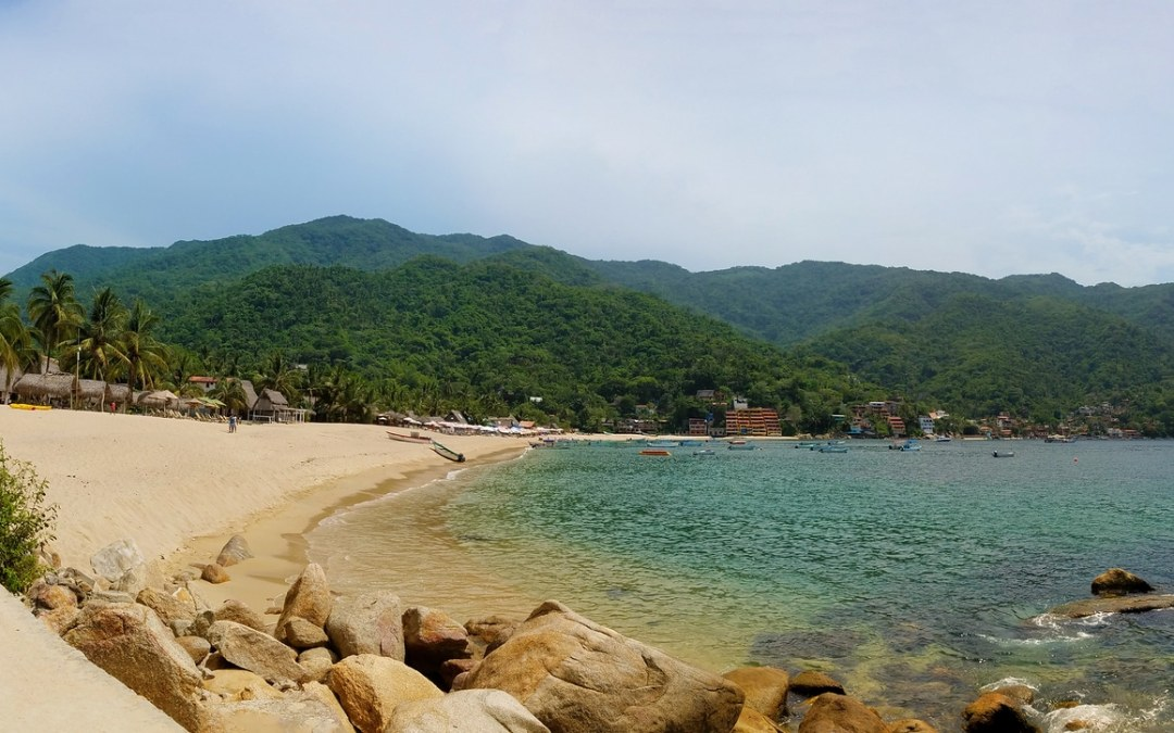 Panorama of Yelapa