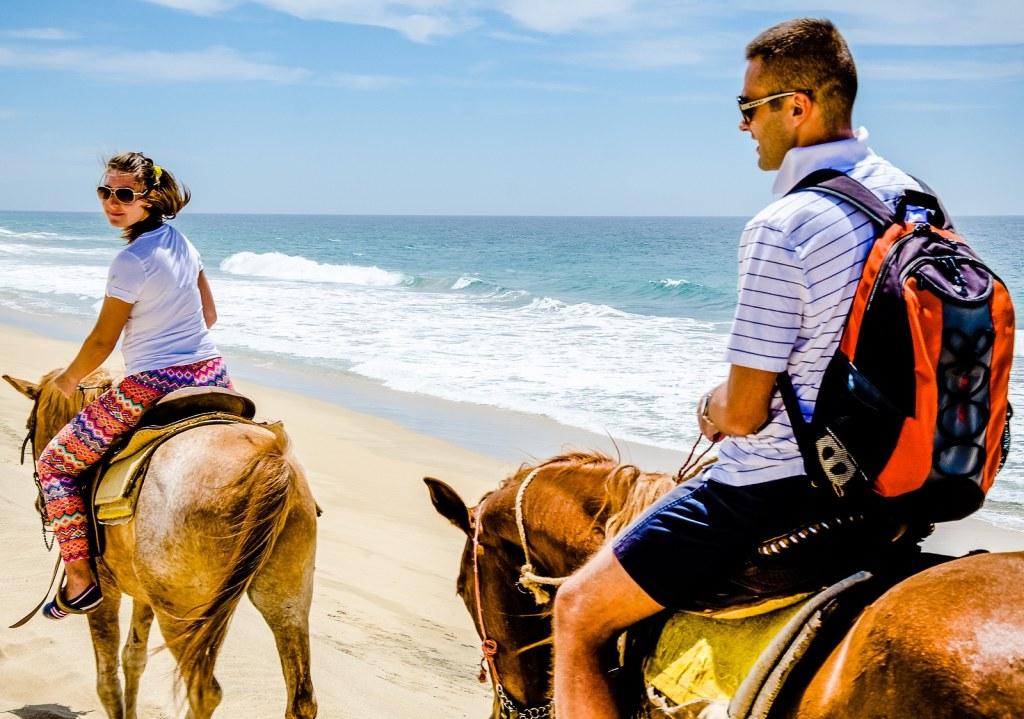 horseback riding by Krystal International Vacation Club