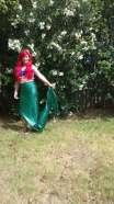 Mermaid with red hair