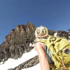 I've adventured off the path at Glacier National Park