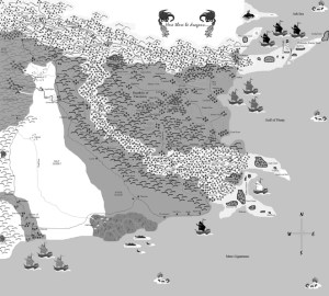Altesse black and white map