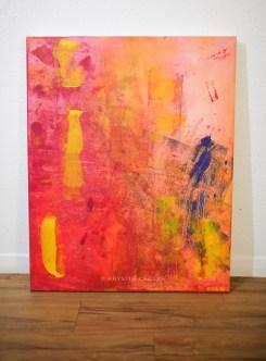 Faith   Acrylic on Canvas   24x30''   $200.00