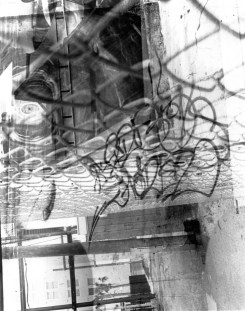 Art in strange places | Silver Gelatin Darkroom Print | 8x10'' Paper | Matte Finish | $25.00 + Shipping