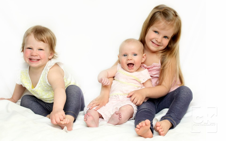 Chris Kryzanek Photography children - three sisters