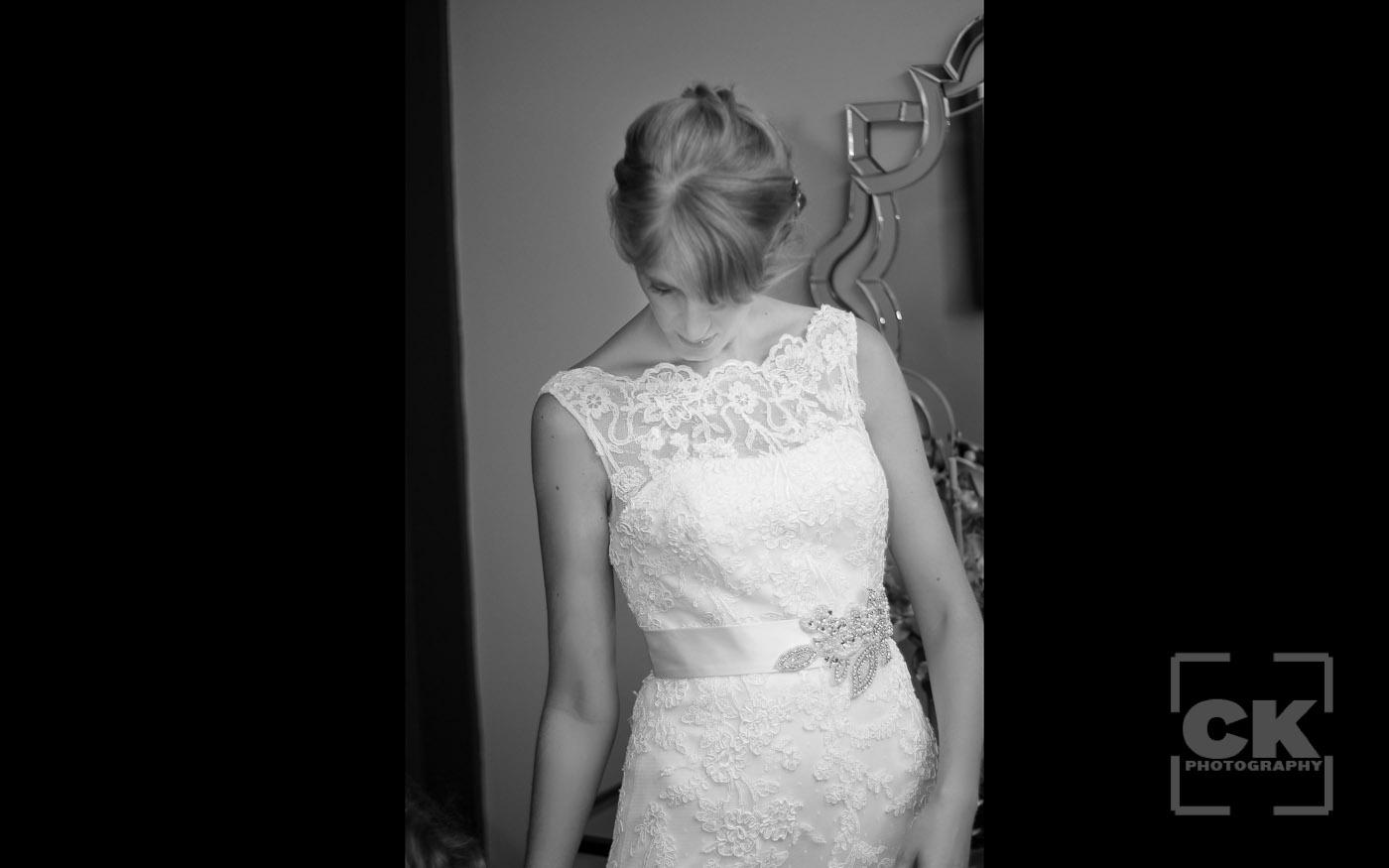 Chris Kryzanek Photography - beautiful Bride in dress