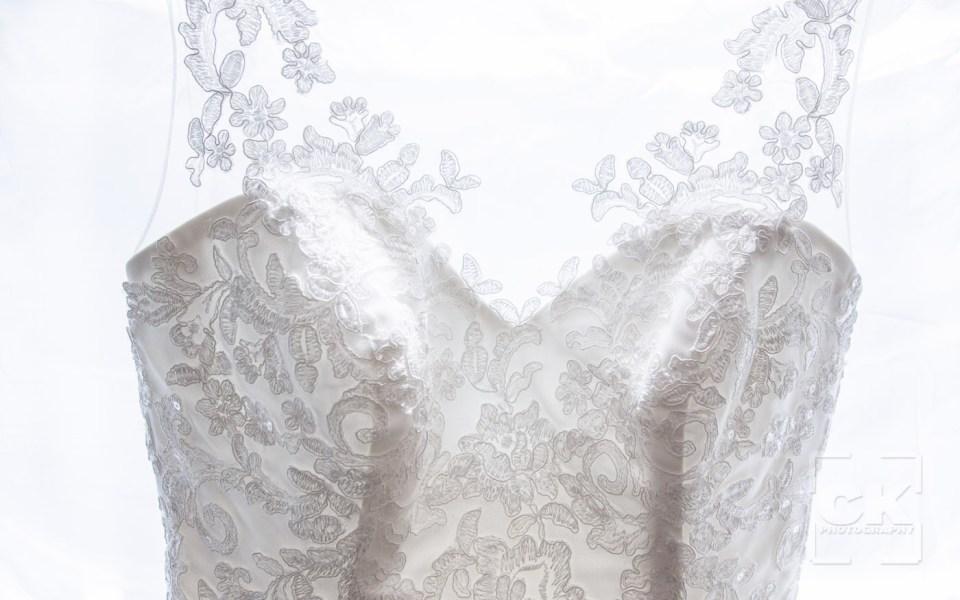 Chris Kryzanek Photography - Wedding Dress detail
