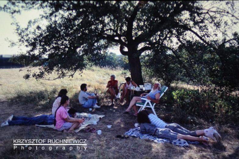 Obóz letni w Krzyżowej (1990)