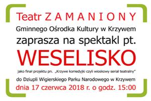 Teatr ZAMANIONY przedstawia WESELISKO
