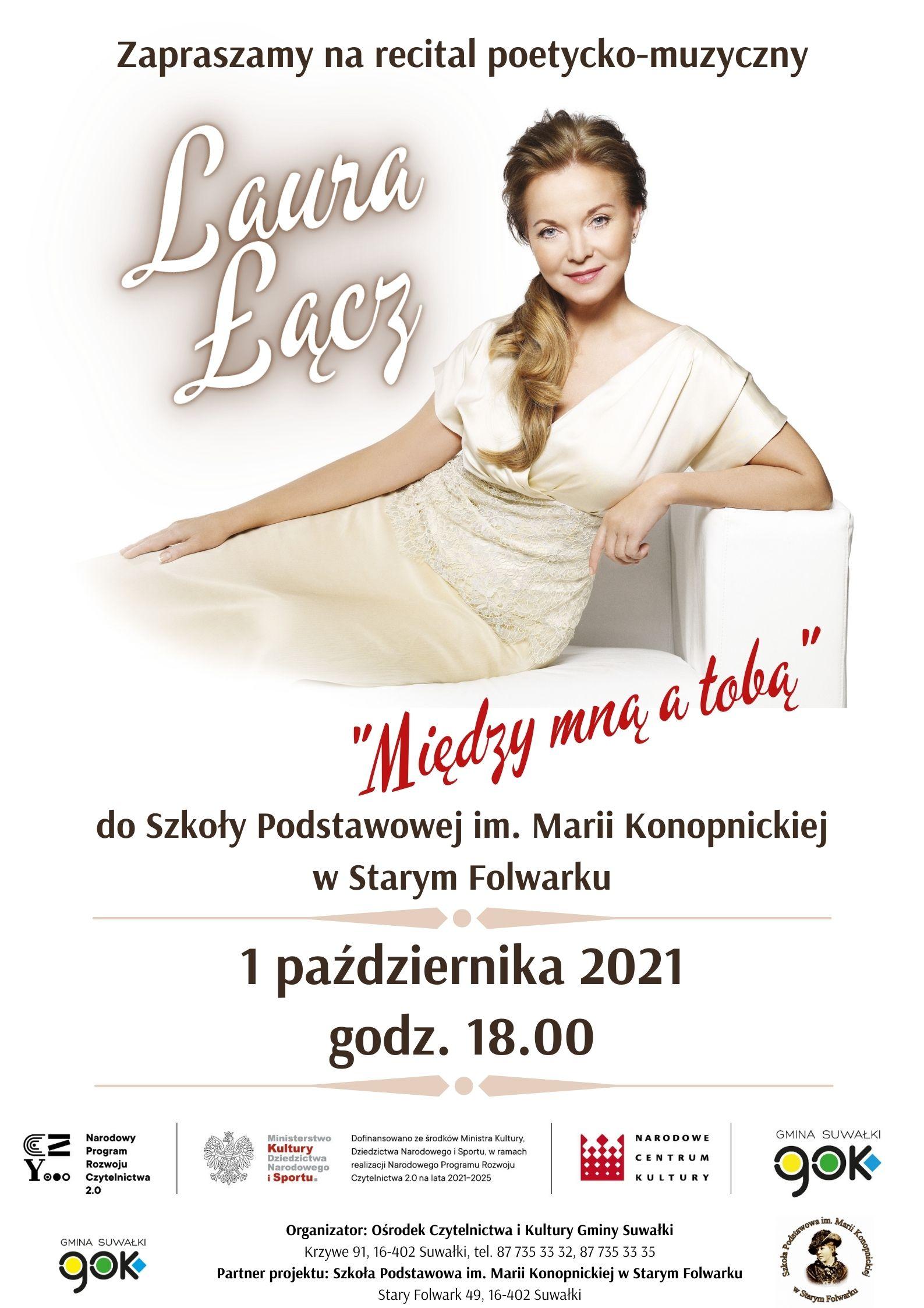 Laura Łącz - spotkanie i występ artystyczny