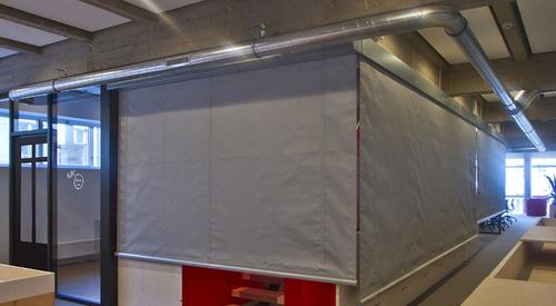 fire smoke curtains maintenance kingspan great britain