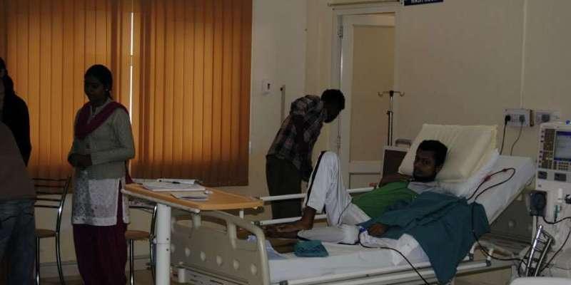Dialysezimmer im Krankenhaus