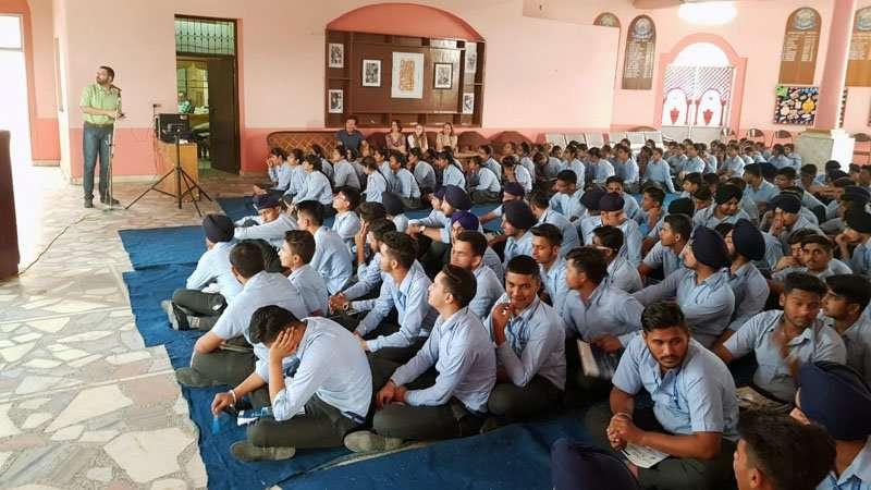 workshop students save lifes